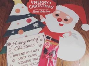 非常讚的百圓商店Seria聖誕節商品☆