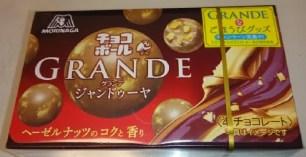日本必買介紹過的零食試吃心得☆森永「Choco Ball GRANDE榛果巧克力」