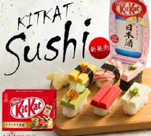 愚人節的玩笑點子成真!「Kitkat壽司是…?!」