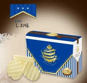浪花紋路打造出酥脆新食感♪『GRAND Calbee』波浪洋芋片