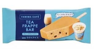 日本全家便利商店「珍珠奶茶酷繽沙冰棒」開賣♡有一顆顆的Q彈珍珠喔♪