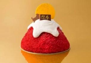 銀之葡萄的新春限定蛋糕「紅色富士的新年」2018元旦起3日限定販售☆
