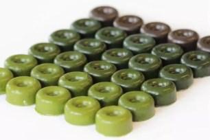 最高24%!能品嚐到5種不同抹茶濃度的「抹茶巧克力品嚐評比組合」