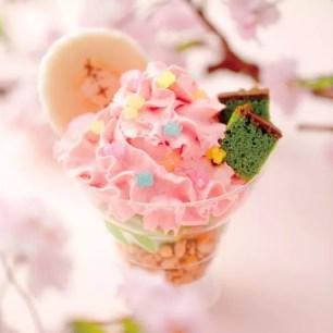 京都祇園辻利。春季限定&店鋪限定的粉嫩春色甜點好吃又上相~