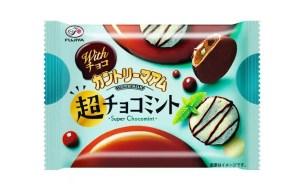 不二家FUJIYA‧薄荷巧克力與南高梅!適合夏天的2款清爽系新商品