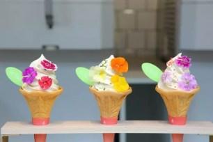 Glico固力果「SUNAO」花束霜淇淋❀期間限定店鋪『FLOWER SOFT STAND』5月11日表參道開幕