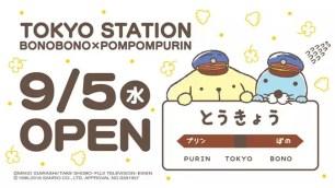 東京車站一番街☆可愛療癒的「暖暖日記×布丁狗」期間限定限時展售店