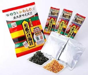 盡情增加茶泡飯的配料♪永谷園「海苔・米果增量再增量 茶泡飯海苔」
