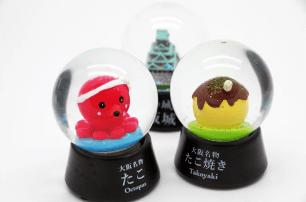不禁讓人展現笑容!趣味性十足的獨特大阪伴手禮「大阪限定雪花球」