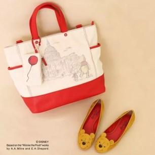 鞋子品牌『DIANA 』的DISNEY COLLECTION『摯友維尼』系列商品