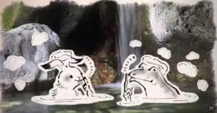 星野集團官方影片宣導☆讓鳥獸戲畫的可愛動物告訴你泡溫泉的禮儀!