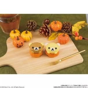 日本LAWSON限定和菓子♥『Taberareru Mascot 萬聖節 懶懶熊Rilakkuma』數量有限