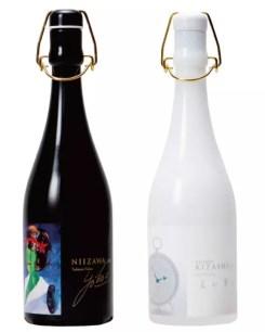 兩款耗時350小時精米至7%的究極日本酒☆選用日本知名美術家設計酒標