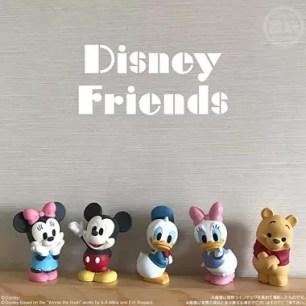 想收集到所有款式!8款迪士尼角色的可愛造型軟膠模型盒玩「Disney Friends」