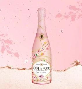 Café de Paris新商品♡櫻花色氣泡酒「Café de Paris Colorful Party Sweet・櫻桃」