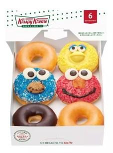 日本Krispy Kreme甜甜圈聯名企劃「KRISPY KREME meets SESAME STREET」☆2月20日限量新登場