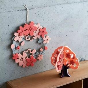 日本雜貨品牌「AWESOME STORE」可愛新推出♪毛氈製室內裝飾系列商品