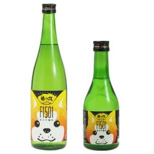 秋田縣當地酒(U・x・U)顯眼可愛的「秋田犬酒標純米吟釀」