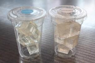 """手工糖品牌「papabubble」期間限定新商品♬""""冰塊CANDY""""雙口味"""