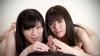 Sara Yurikawa and Mai Araki's double handjob