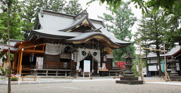 寒河江神社