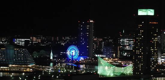 神戸市役所展望台ハーバーランドルミナリエ