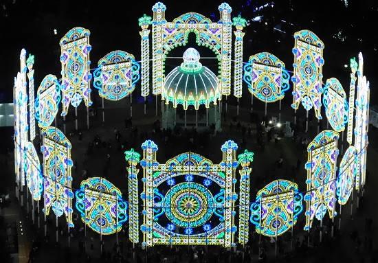 神戸市役所展望台ルミナリエ