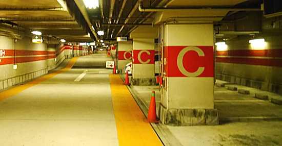ルミナリエ 三宮駐車場