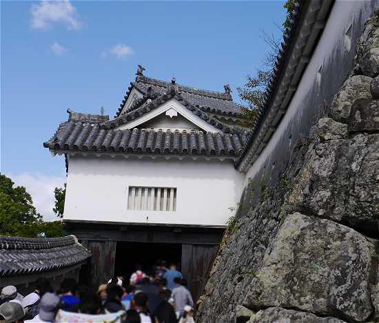 姫路城 にの門