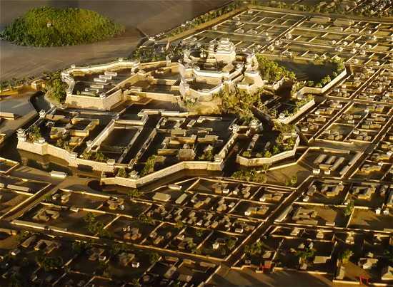 姫路城 ジオラマ