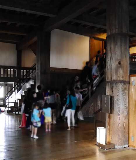 東大柱 姫路城
