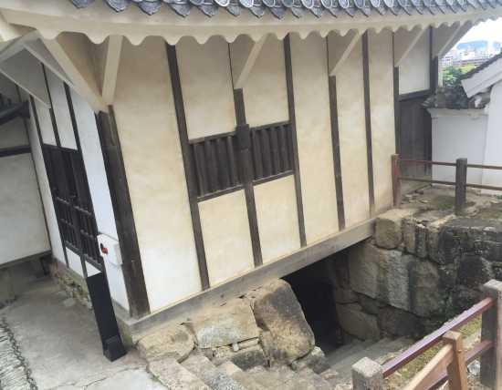 姫路城 腹切丸