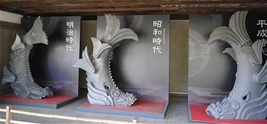 姫路城 鯱