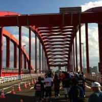 神戸マラソン 神戸大橋