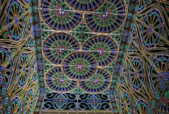ルミナリエ天井