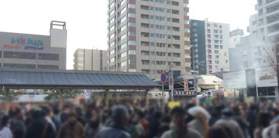 西宮神社混雑 西宮駅