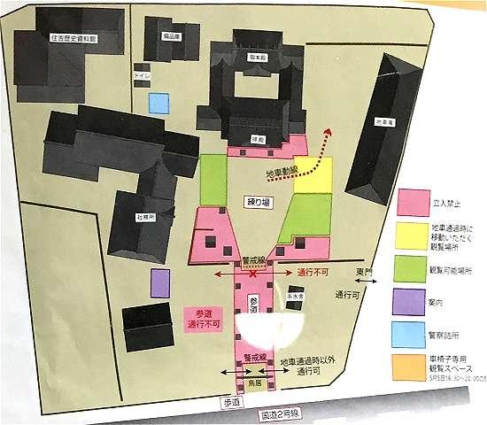 住吉神社だんじり地図