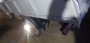 Ремонт бортов и окраска платформы подрамника бортовой газели