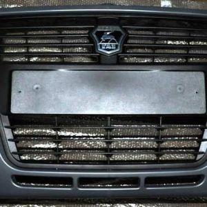 Бампер ГАЗ-3302 Бизнес передний с решеткой и эмблемой