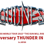 【追加公演】 LOUDNESS  30th Anniversary THUNDER IN THE EAST