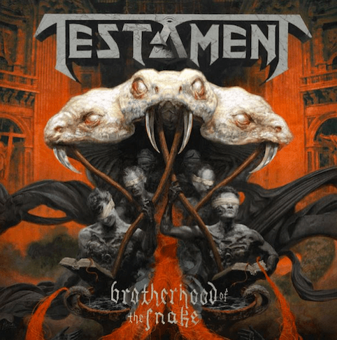 TESTAMENT 「BROTHERHOOD OF THE SNAKE」