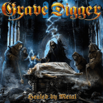 GRAVE DIGGER 新作情報 「Healed By Metal」