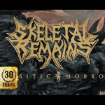 SKELETAL REMAINS 新曲「Parasitic Horros」のOFFICIAL AUDIOを公開