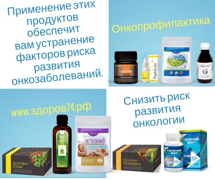 Продукты профилактики рака (фото)