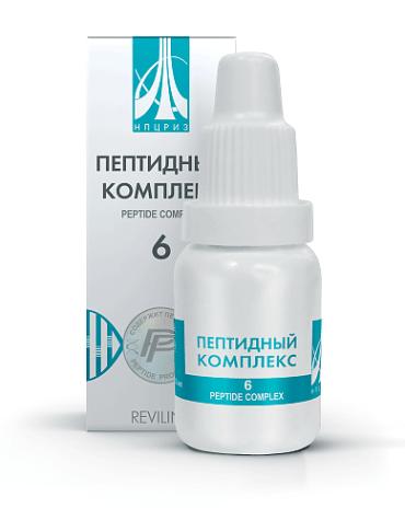 Купить пептид ПК №6 НПЦРИЗ для щитовидной железы