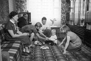 Домашняя обстановка, 70ые. СССР
