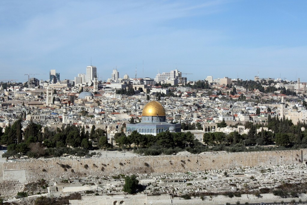 al-aqsa mosque, dome of the rock, holy land