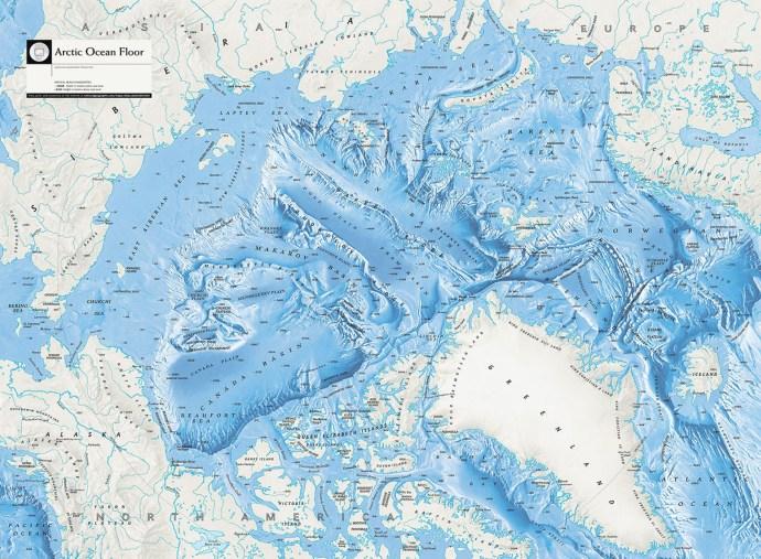 купить карту Антарктики на различных материалах и в любых удобных вам размерах