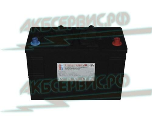 Акбсервис.РФ   3PZS120 ISCRA - моноблочный тяговый аккумулятор, с панцирными пластинами. 12В/120А.