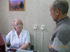Беседа с пациентом о правилах лечения